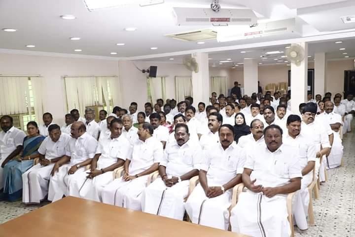AIADMK District secretaries meet