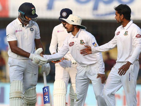 India vs Bangladesh 1st Test Day 2
