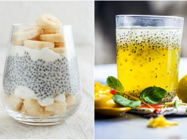 difference between sabja/basil seeds and chia seeds