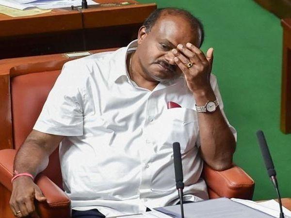 Kumaraswamy's resignation