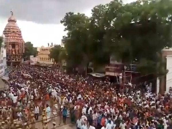 Srivilliputhur Andal Temple Car Festival