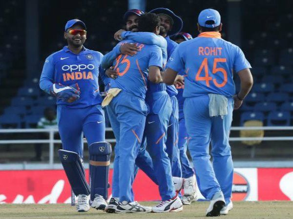 India wins 2nd ODI against West indies