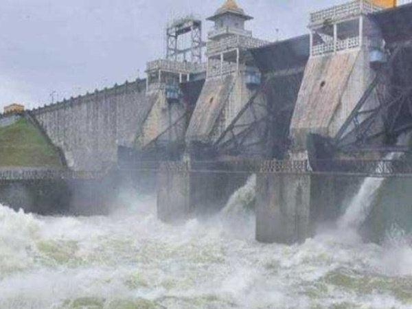 Mettur dam storage touches 108 feet