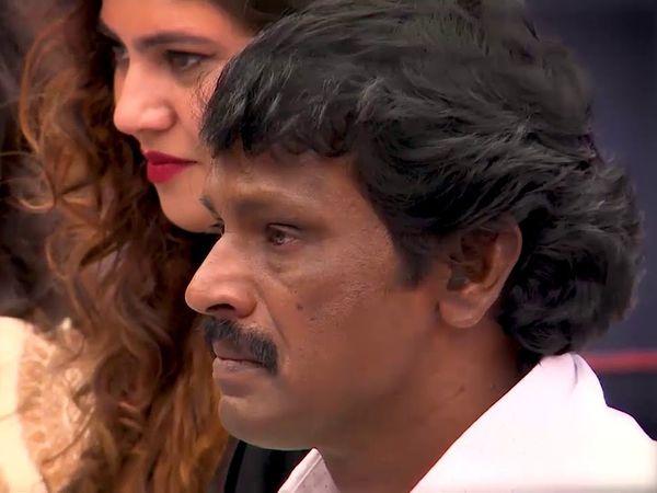 Biggboss tamil, cheran crying