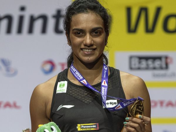 PV Sindhu won gold in BWF World Championships