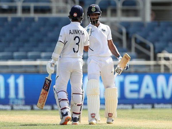 அஜின்க்யா ரஹானே மற்றும் ஹனுமா விஹாரி அரைசதம், Rahane, vihari hit half century as india dominate day 3