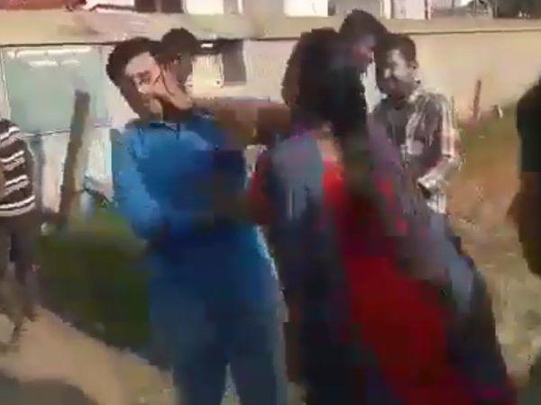 Wives thrash husband for planning 3rd marriage, மூன்றாவது திருமணத்திற்கு பெண் தேடியவனை தாக்கிய மனைவிகள்