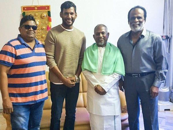 Ilaiyaraaja to compose music for Thupparivaalan 2, துப்பரிவாளன் 2 படத்திற்கு இசையமைக்கும் இளையராஜா