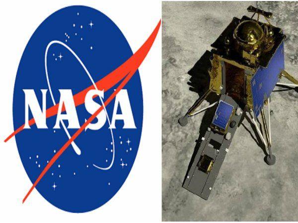 விக்ரம் லேண்டருக்கு ஹலோ சிக்னல் அனுப்பியது நாசா, NASA sends hello signal to vikram lander