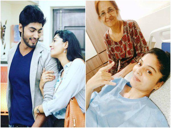 நடிகை சனம் ஷெட்டிக்கு டியூமர்,Tharshan's gf Sanam shetty diagnosed with tumor;undergoes emergency surgery