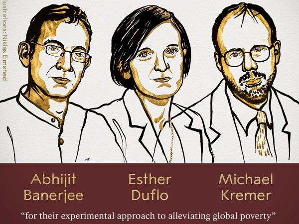 Nobel Prize in Economic Sciences 2019, பொருளாதாரத்தில் நோபல் பரிசு 2019