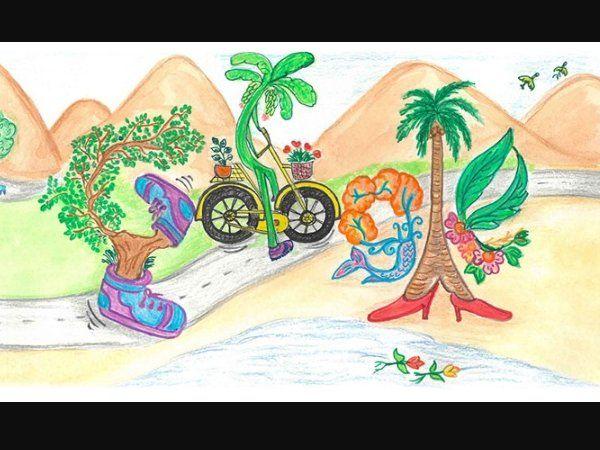 Google doodle on children's day