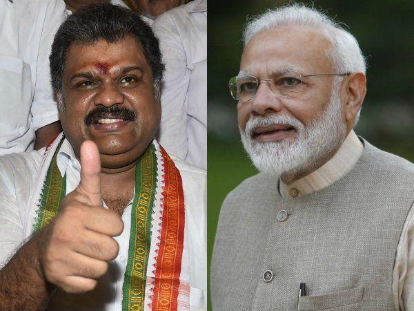 GK Vasan, Narendra Modi, ஜி.கே.வாசன், நரேந்திர மோடி