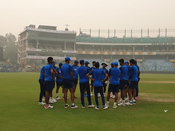 Team India begin preparations for the T20I series