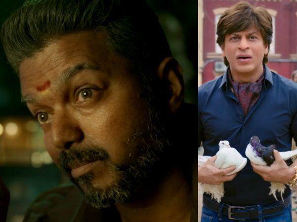 Vijay, Shah Rukh Khan, விஜய், ஷாருக்கான்